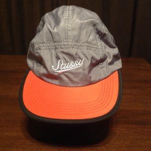 Stussy Baseball cap/Hat Orange & Grey Unisex